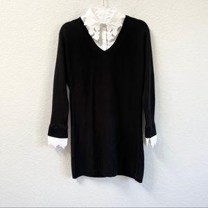 Anne Fontaine Alexane Sweater Dress Tunic Sz 40